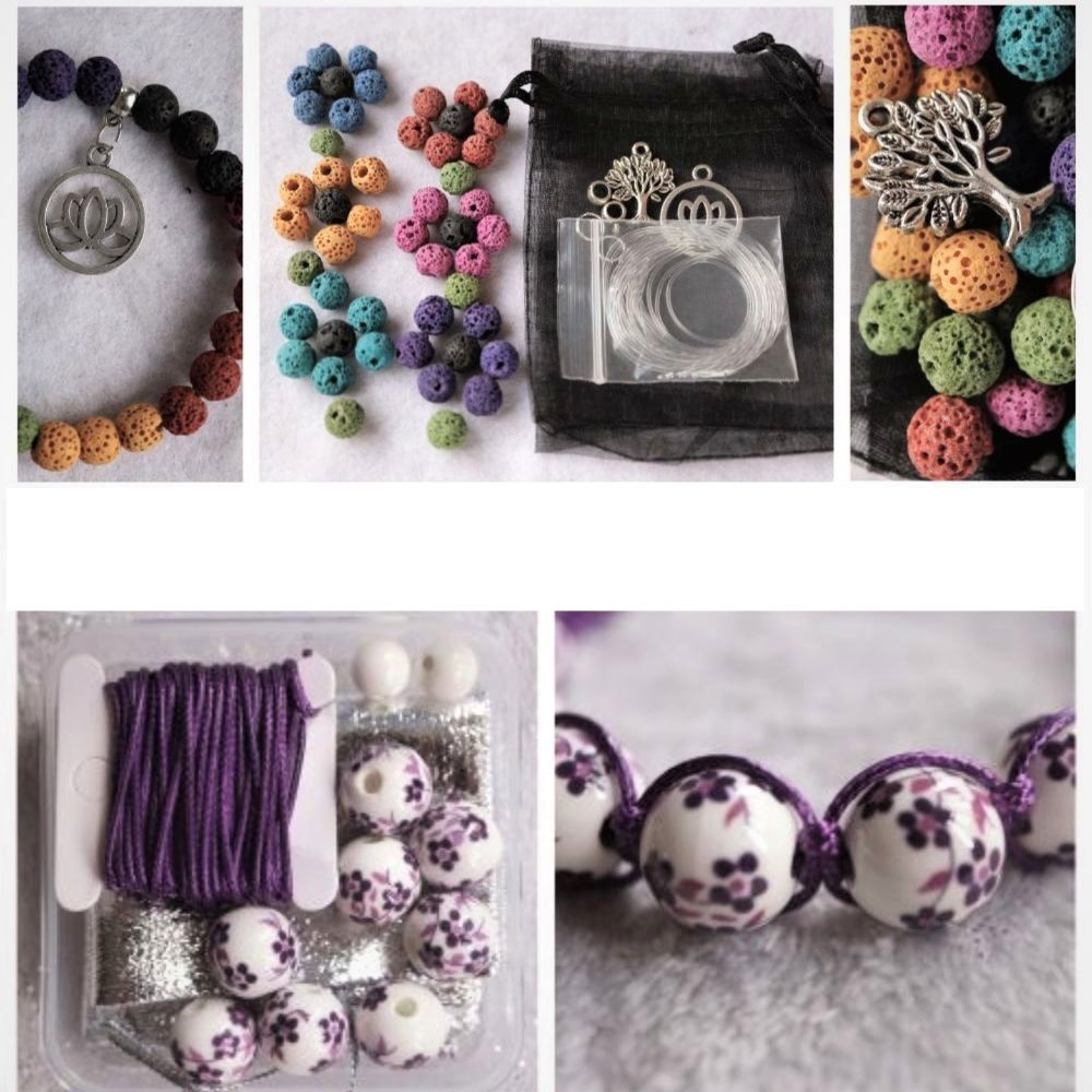 DIY Bracelet Kits and Bead Mixes