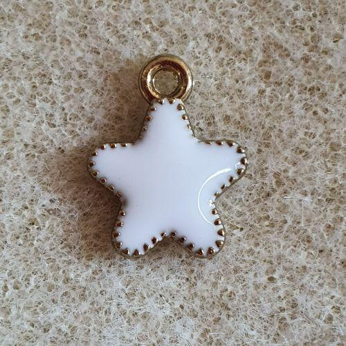 White Star Charm