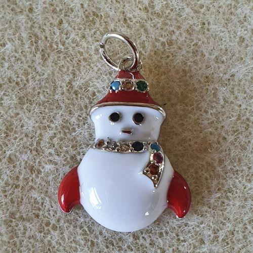 Snowman Pendant