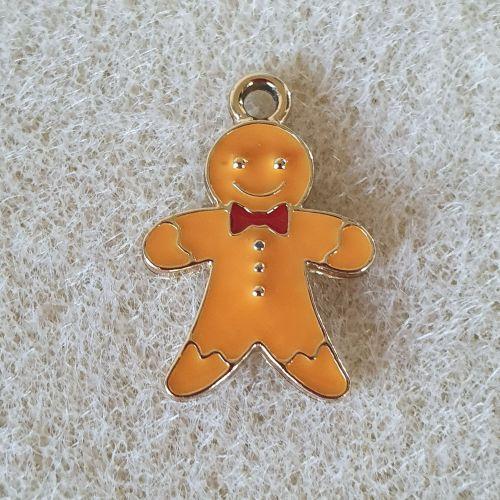 Gingerbread Man  Pendant