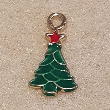Christmas Tree Green Pendant