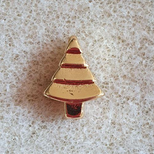 Christmas Tree Golden Pendant