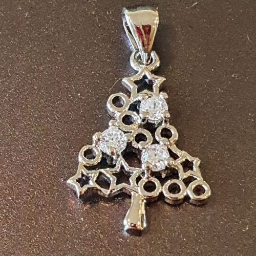 Christmas Tree Micro Pendant