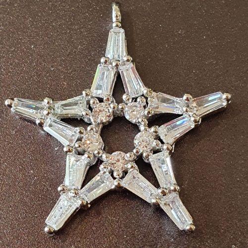 Star Pave Pendant