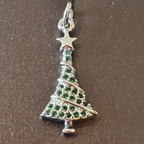 Christmas Tree Micro Pendant