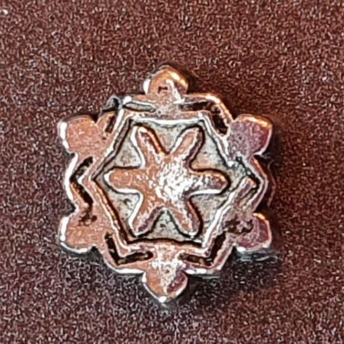 Snowflake Acrylic Bead
