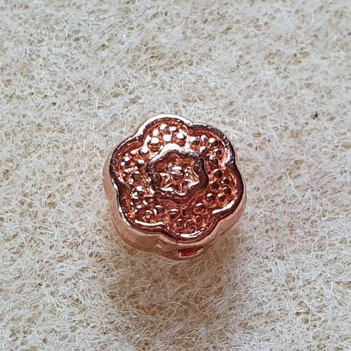 Rose Gold Flower Bead