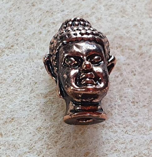 Rose Gold Buddha Head Bead