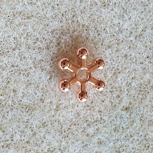Rose Gold Flower Spacer