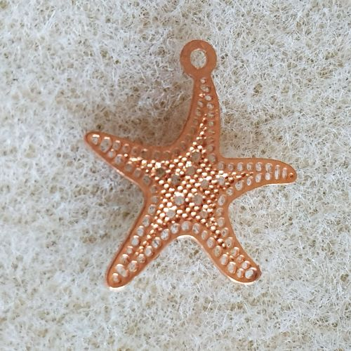 Rose Gold Starflsh Pendant