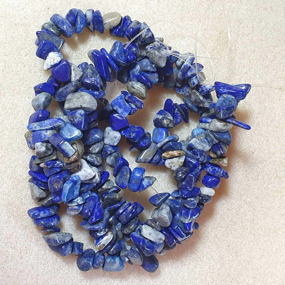Lapis Lazuli Bead Chips