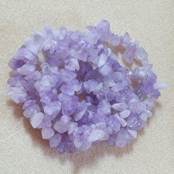Amethyst (Light) Chips 5-8mm