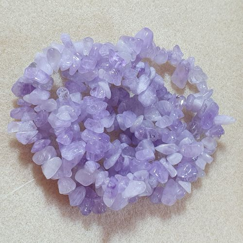 Amethyst (Light) Chips 5-8mm