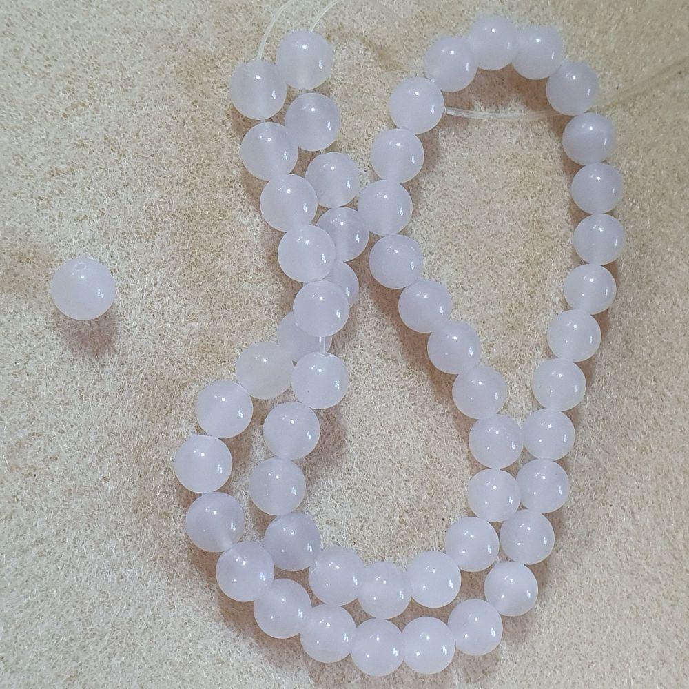 Amethyst (Light) Beads t 8mm
