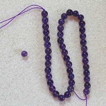 Amethyst Beads 4mm