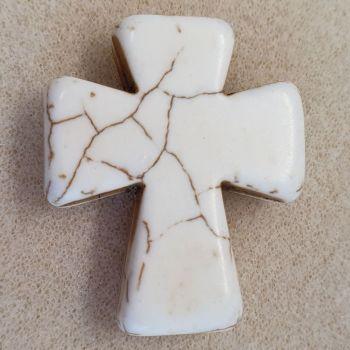 Cross Chunky  Bead