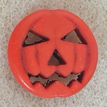 Pumpkin Flat Bead
