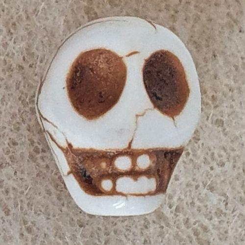 Skull Ceramic Bead