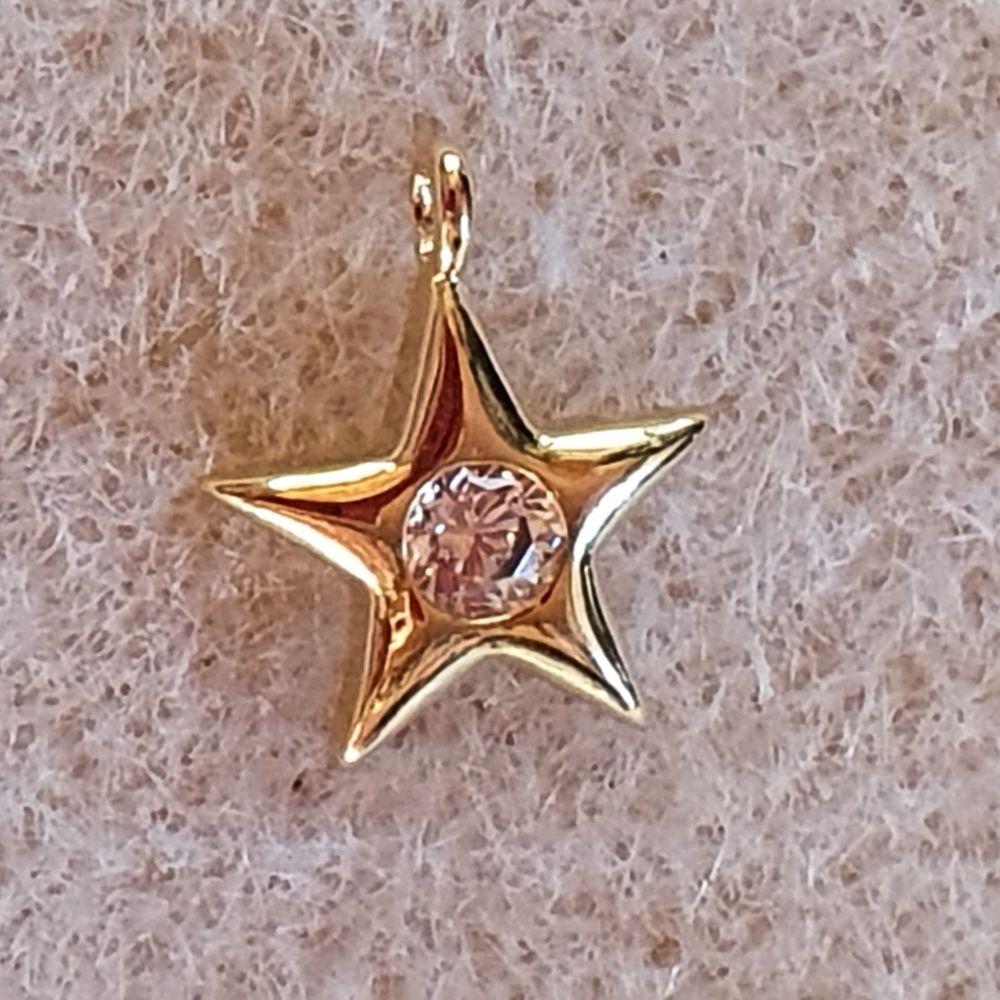 Star Gold Charm