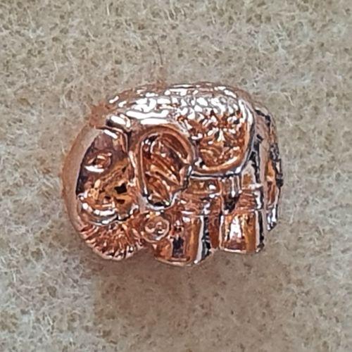 Rose Gold Elephant Bead