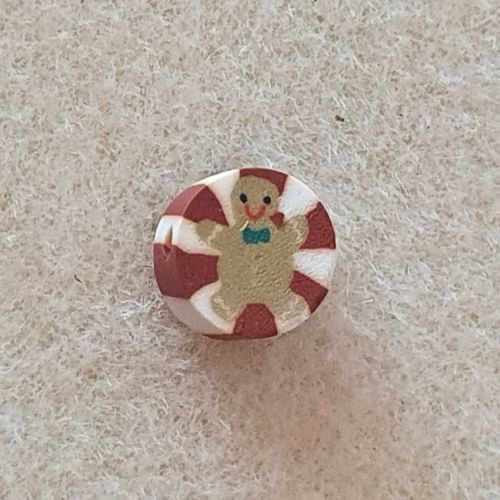 Gingerbread Man  Bead