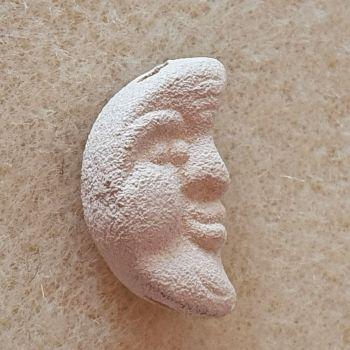 Moon Porcelain Bead