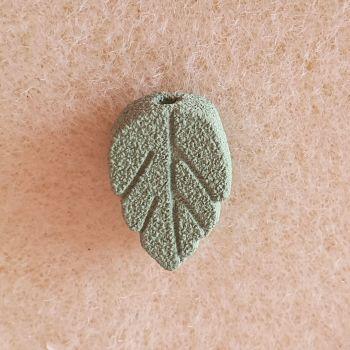 Leaf Porcelain Bead