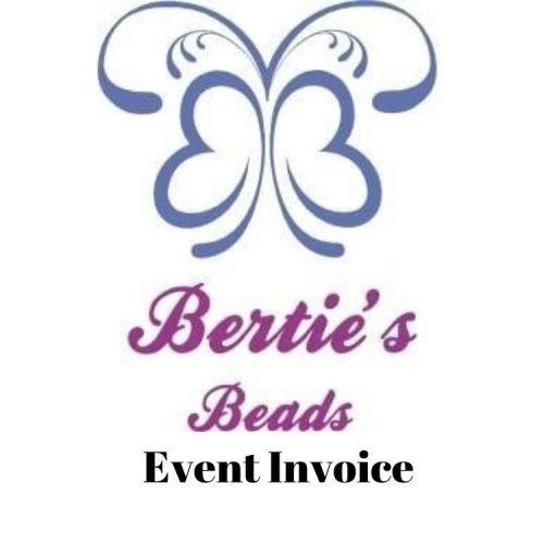 Andrea Fielden Event Invoice