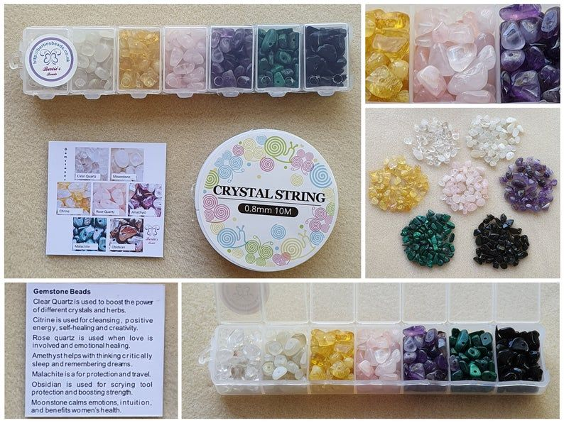 Gemstone Chips a Witches Mix