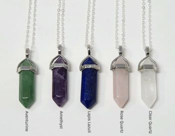 Crystal Point Healing Crystal Necklace
