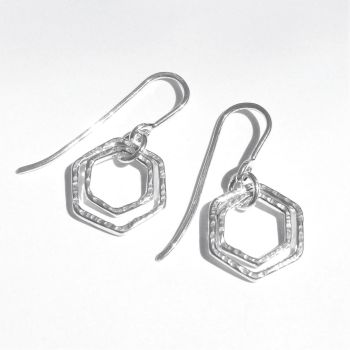 Medium double hexagon hooks - flexible