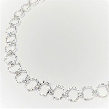Hexagon Chain necklace