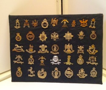 A selection of british military badges