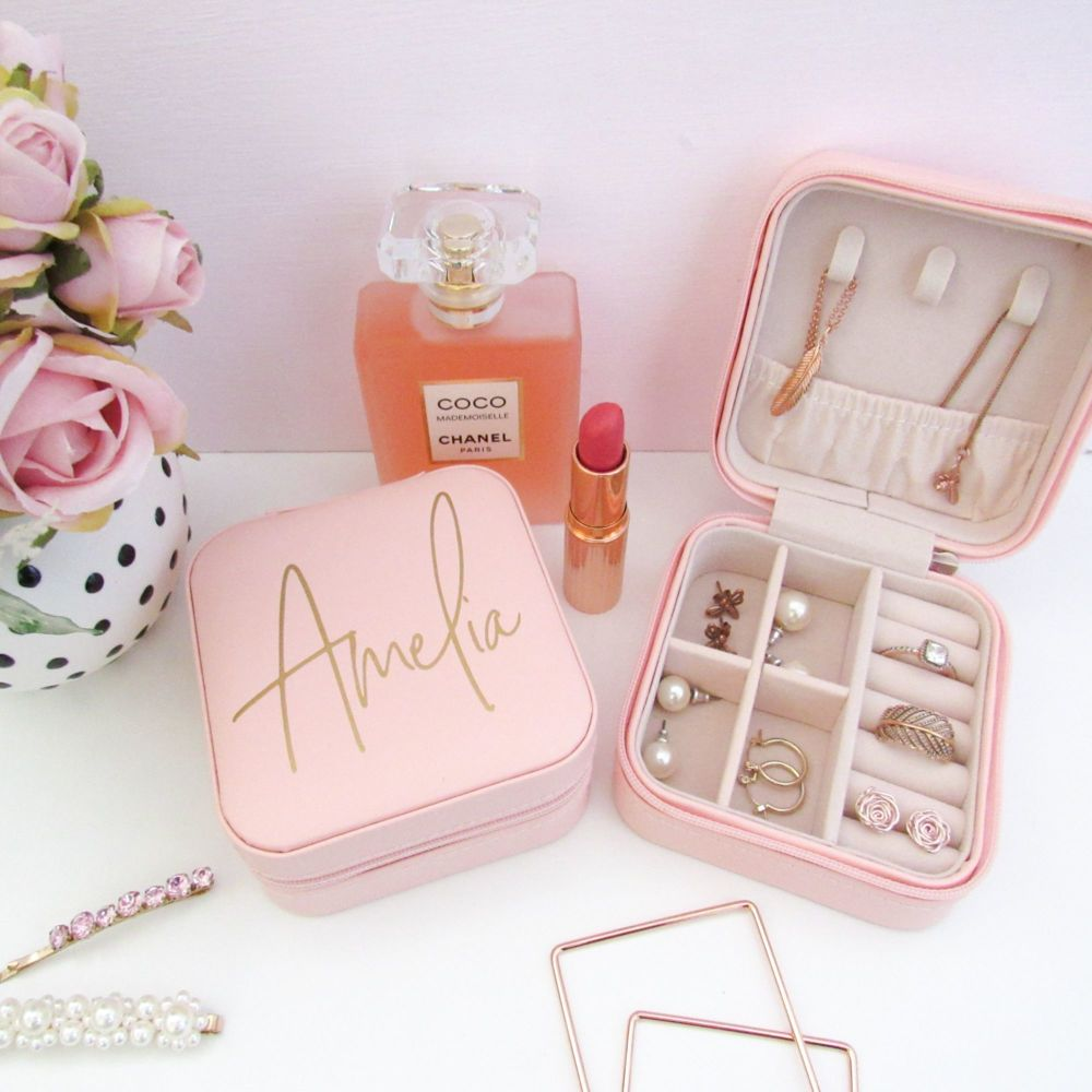 <!-- 001 -->Personalised Travel Jewellery Box