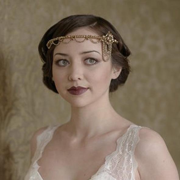 Elmira Bridal Forehead Band