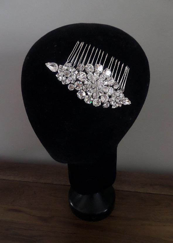 Jo Barnes bridal hair comb