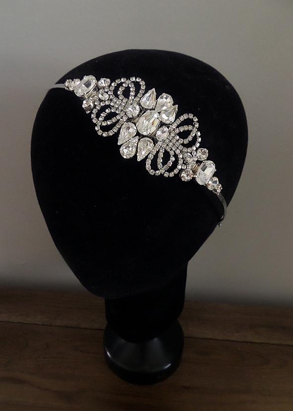 Jo Barnes art deco style headband