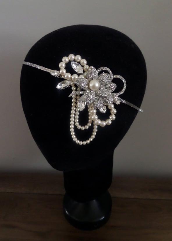 Jo Barnes 1920s style headdress