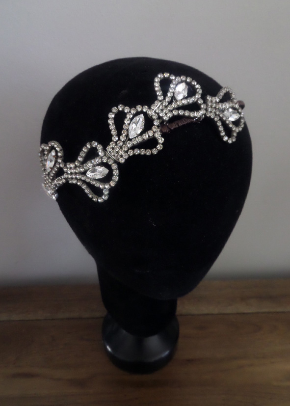 Jo Barnes art deco inspired headband
