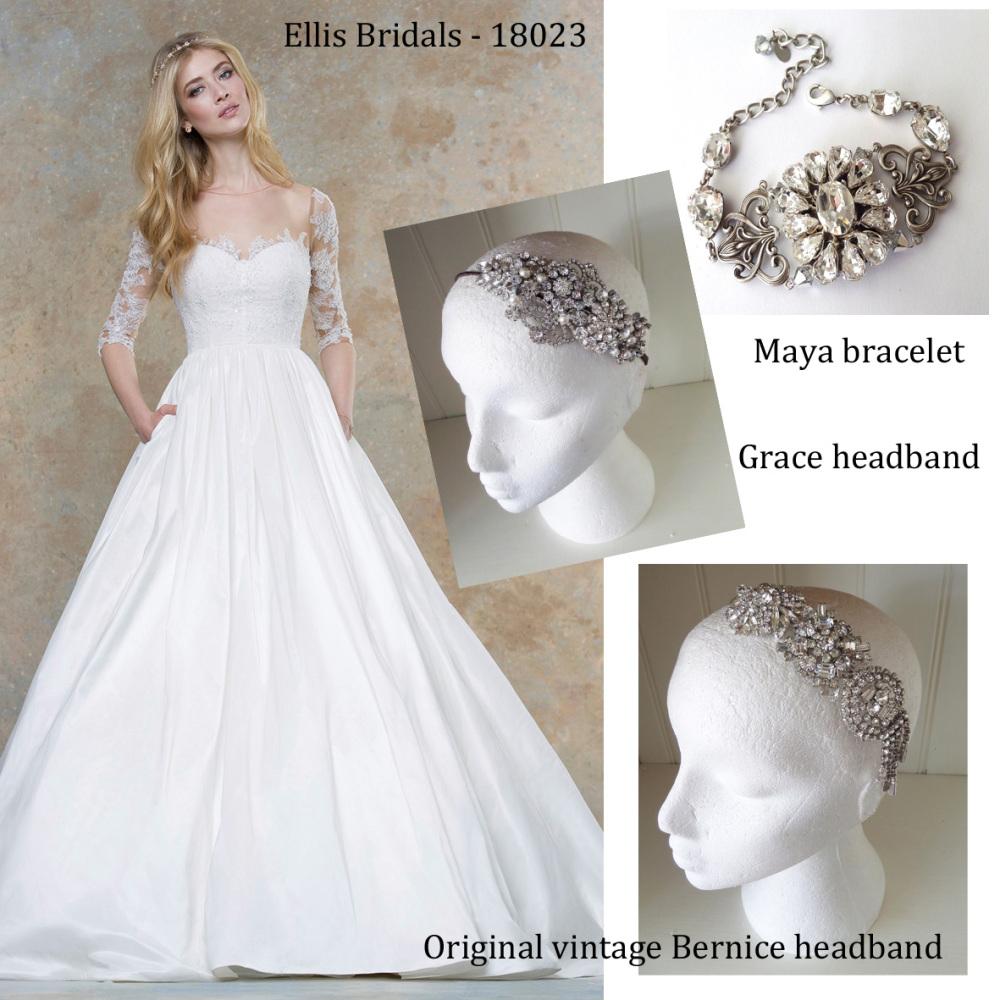 ellis bridals 18023