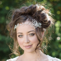 Azhara Bridal Hair Vine
