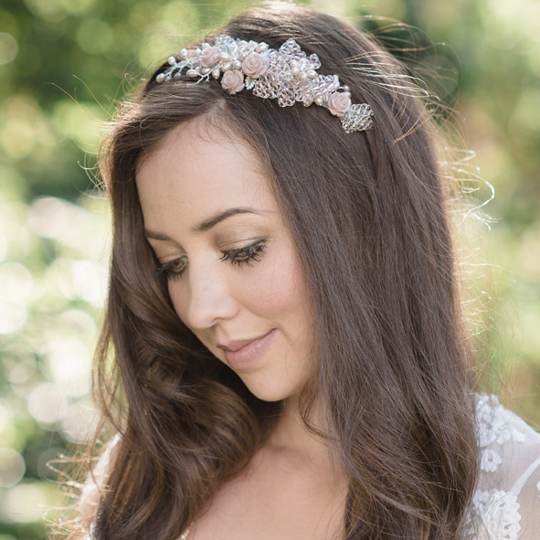 Maika Rose Bridal Headband