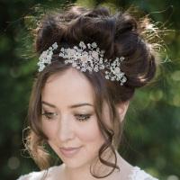 Roza Floral Bridal Headband