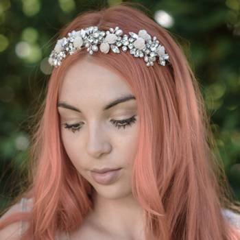 Zahra Floral Bridal Headband