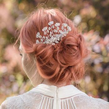 Serika Bridal Hair Comb (L)