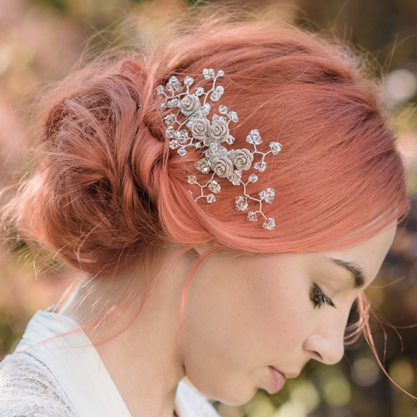 Roza Wedding Hair Comb