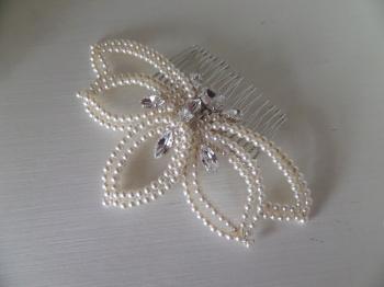 Jo Barnes bespoke pearl comb