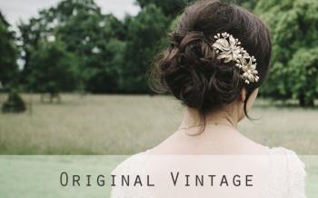 original vintage bridal headdresses