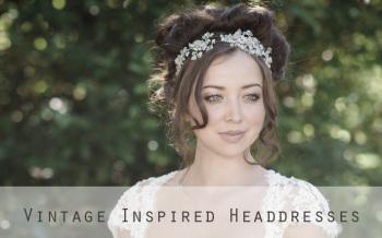vintage inspired headdresses by Jo Barnes