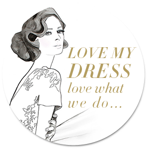 love my dress logo featured badge